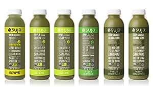 Suja Juice, Organic, Cold-Pressed Green Juice Pack, (Pack of 6)