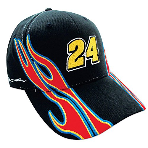 Jeff-Gordon-24-NASCAR-Flame-Hat