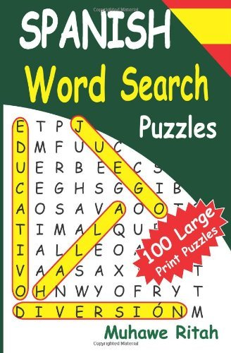 Download By Muhawe Ritah SPANISH Word Search Puzzles (Volume 1) (Lrg) pdf