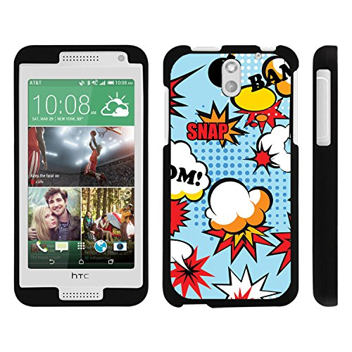 HTC Desire 610 Phone Case, Perfect Fit Snap on Cell Phone Case Superhero Design Series for HTC Desire 610 and 612 by Miniturtle® -