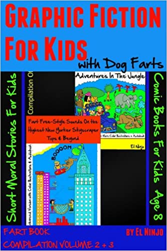 Download online FART BOOK: Fart Freestyle Sounds On the Highest New Yorker Skyscraper Tops & Beyond + African Bean Fart Adventures In The Jungle (Dog Farts Compilation Vol. 2 & 3 + Color  + Audiobook) PDF, azw (Kindle), ePub, doc, mobi