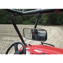 "Seizmik Rear View Mirror 1.75"" Street Motorcycle Accessories - Black/One Size"