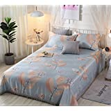 BEIRU Washing Conditioning Mat Bed Sheet Ice Silk Mat Summer Gift Ice Silk Mat Three Sets ZXCV (Color : 5, Size : 250250)