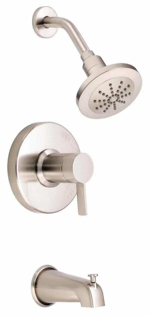 Danze D520030BNT Amalfi Single Handle Tub and Shower Trim Kit, 2.5 ...