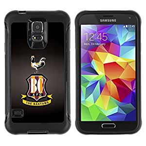 CAZZ Rugged Armor Slim Protection Case Cover Shell // BC Team // Samsung Galaxy S5