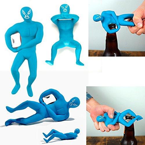 Luchador Bottle Opener Novelty Kikkerland