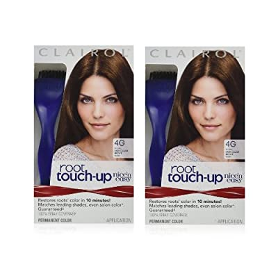 Clairol Nice 'n Easy Root Touch-Up 3 Matches Black Shades 1 Kit