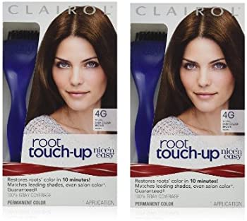 2-Pk Clairol Nice 'n Easy Root Touch-Up Kit (Dark Golden Brown)