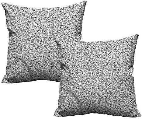 Amazon.com: Almohadas cuadradas resistentes a las arrugas ...
