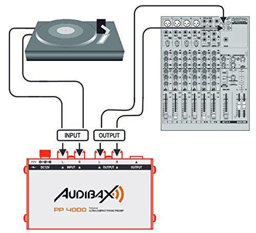 Audibax PP4000 Previo Phono RIAA. Interruptor ON/OFF: Amazon.es: Electrónica
