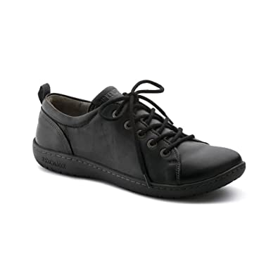 6d9e81db7808 Birkenstock Women s Islay Black Leather Oxford