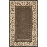 Safavieh Total Perform Collection TLP727C Hand-Hooked Olive and Ivory Area Rug (3′ x 5′)