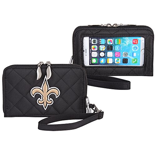Cell Saints (Charm14 New Orleans Saints Quilted Cell Phone Wallet)