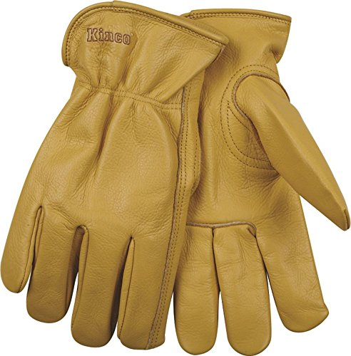 Kinco 98-L-1 Unlined Grain Cowhide Glove, 12
