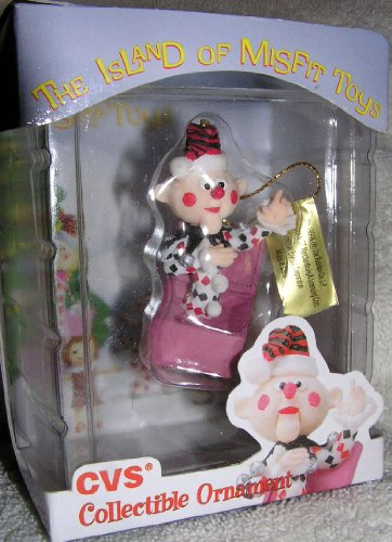 - 1999 CVS Limited Edition Charlie in the Box Christmas Ornament from Rudolph and the Island of Misfit Toys