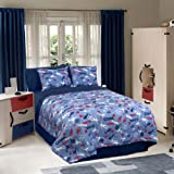 Veratex Soccer Locker Kids' Bedding Collection Full Comforter Set
