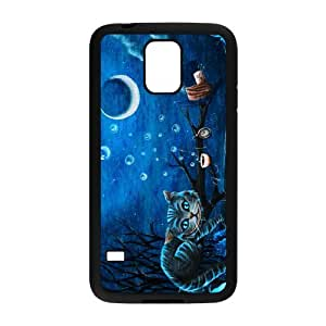 Perfect as Christmas gift-Space Cats with Sunglasses Printed case Hard Plastic PC Protective Cover case Accessories for Samsung Galaxy S5 Case-02