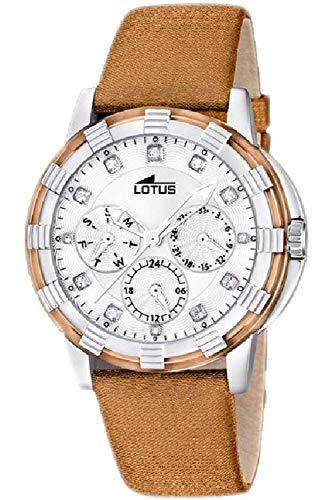 Lotus Glee Womens Analog Quartz Watch with Leather Bracelet 15746/H