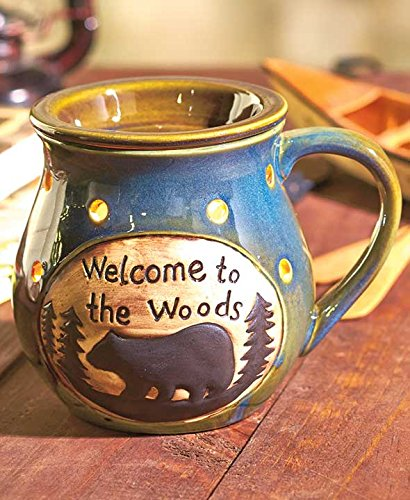 Welcome to the Woods Handled Mug Electric Wax (Shark Wax)