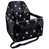 Why you need a car booster for your baby - 1.Your the most needed pet booster seat,when you driving,don't need to worry about the dog Drill into the legs disturb you. - 2.Pet stand and sit in the booster won't dirty or scratch your car seat. - 3.Smal...