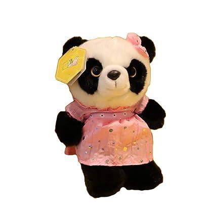 TKHCOLDM Panda Base muñeca Falda Grande Panda Peluche de Juguete muñeca Novias Regalo de los niños