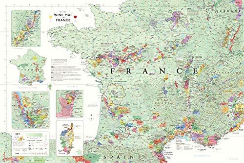 (De Long Wine Map of France)