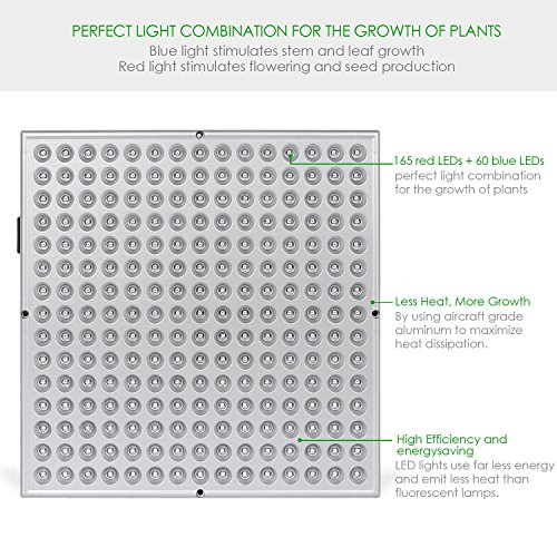 Counting Number worksheets heat and light energy worksheets : Amazon.com : Deckey LED Grow Light Plant Grow Light Hanging Light ...