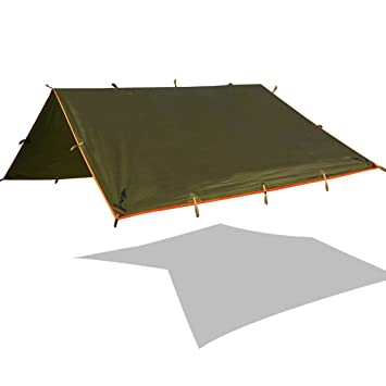 FREE SOLDIER Lightweight Waterproof Tarp Sunshade Tent Hammocks C&ing and Backpacking Tarp Shelter  sc 1 st  Amazon.com & Amazon.com: FREE SOLDIER Lightweight Waterproof Tarp Sunshade Tent ...