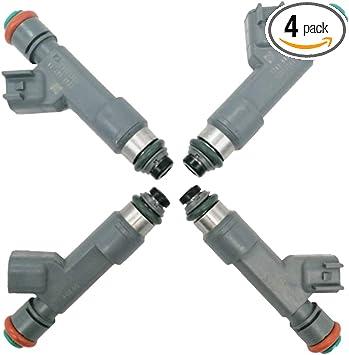 4Pcs Fuel Injectors 12613163 Fits Chevrolet HHR 2.2L 2.4L Malibu Pontiac G6 2.4L