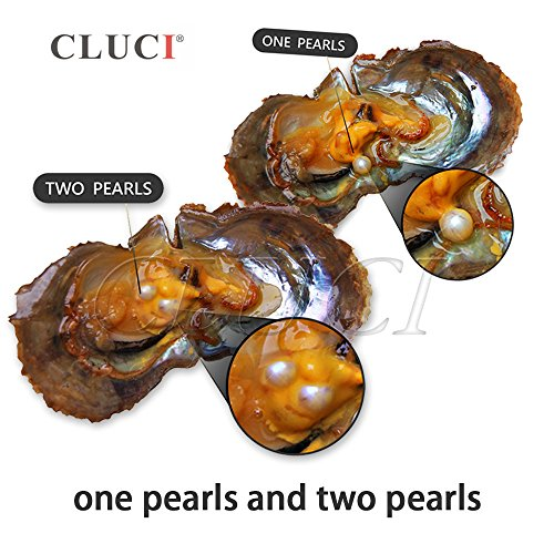 90PCS of Mix 20 Colors Single and Twins Individual Package 6-8mm Saltwater Round Akoya Pearl in Oyster by NY Jewelry (Image #3)