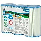 Intex Typ A Filter Kartusche für Pools, drei Pack