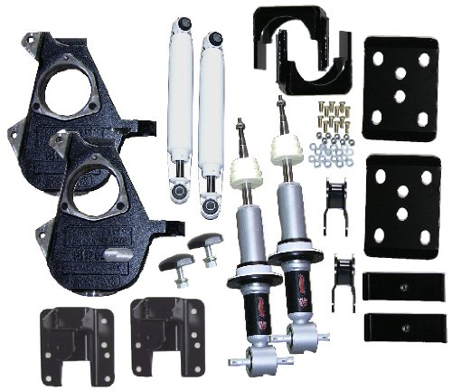 McGaughys 3/5 or 4/6 Adjustable Lowering Kit 07-13 GM 1500 Truck 2WD All Cabs ()
