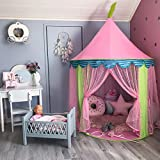 Tiny Land Children Play Tent for Girls Princess Castle Indoor & Outdoor Use, with Carry Case By
