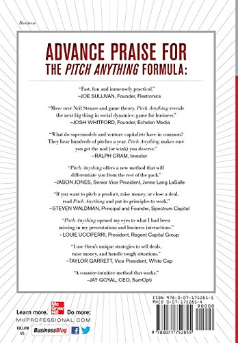 Pitch Anything: An Innovative Method for Presenting, Persuading, and Winning the Deal - http://medicalbooks.filipinodoctors.org