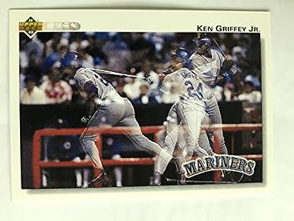 16e6a9d9d3 Amazon.com: 1992 Upper Deck #424 Ken Griffey Jr NM/M (Near Mint/Mint ...