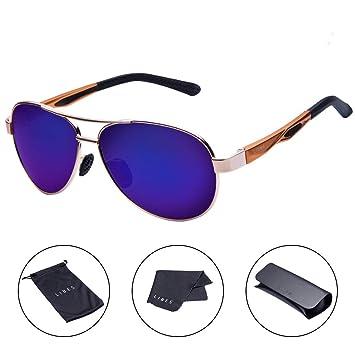 Amazon.com: TAIQX Gafas de sol polarizadas – TAC Aviator ...