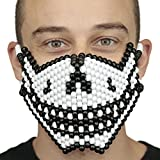 Jack Skellington Halloween Christmas Skull Smile Full Kandi Mask by Kandi Gear