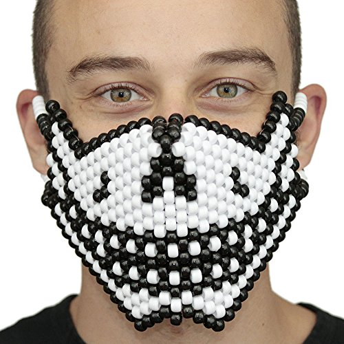 Jack Skellington Halloween Christmas Skull Smile Full Kandi Mask by Kandi Gear -