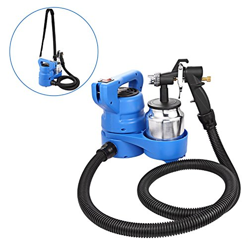 Fashine Advanced Professional Electric Paint Spray Gun, Home Paint Sprayer for Spray Painting, 1000ml Container, Three Spray Patterns, 650W Powerful Motor Speed 32000 RPM, Copper (650w Motor)