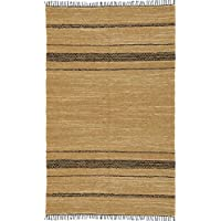 Matador Leather Chindi Runner, 2.5 by 12-Feet, Tan