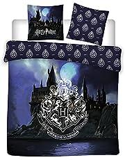 Harry Potter beddengoedset 100% katoen, dekbedovertrek 240 x 220 cm + 2 kussenslopen 65 x 65 cm