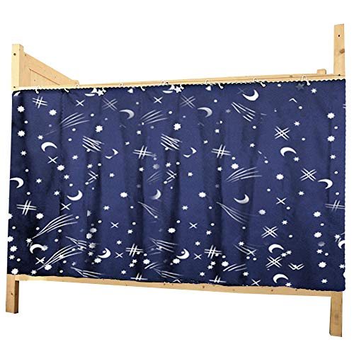 - Felice Galaxy Star Bed Canopy Single Sleeper Bunk Bed Curtain Student Dormitory Blackout Cloth Mosquito Nets Bedding Tent
