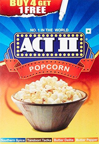 ACT II Instant Premium Popcorn, 280g (Buy 4 Get 1 Free)