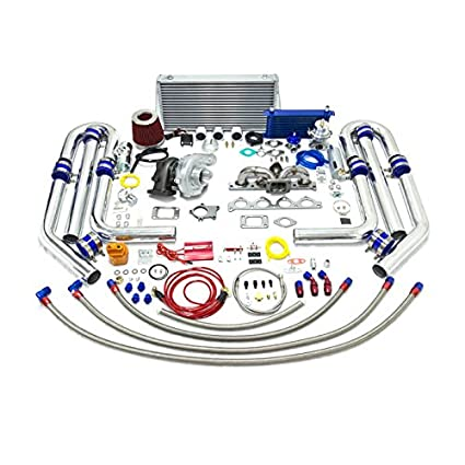 Amazon.com: High Performance Upgrade T04E T3 22pc Turbo Kit - 2.0L DOHC: Automotive