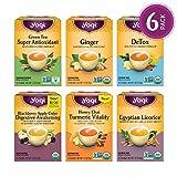 Yogi Tea - Digestion and Detox Tea Variety Pack Sampler - 6 Pack, 96 Tea Bags Total