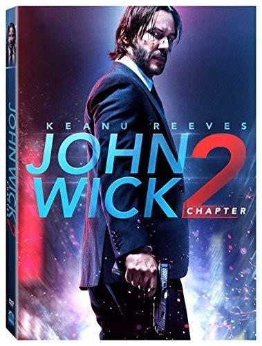 Amazon Com John Wick Chapter 2 Dvd Keanu Reeves Ian Mcshane John Leguizamo Ruby Rose Bridget Moynahan Chad Stahelski Movies Tv