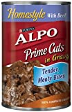 Purina Alpo Prime Cuts Beef Canned Dog Food, 22-Ounce (Pack of 12), My Pet Supplies