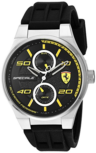 scuderia-ferrari-mens-quartz-stainless-steel-and-silicone-casual-watch-colorblack-model-830355
