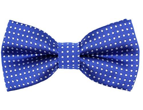 - OCIA Little Boys' Classic Polka Dots Bow Tie Royal Blue
