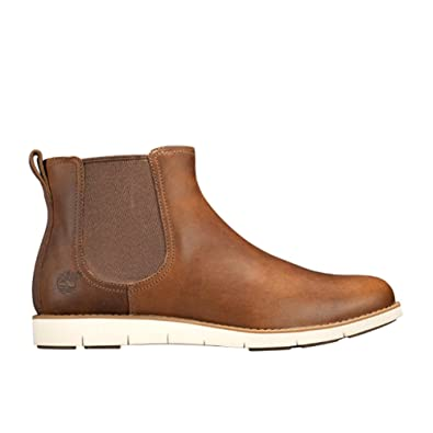 Timberland New Women's Lakeville Chelsea Boot Med Brown 7